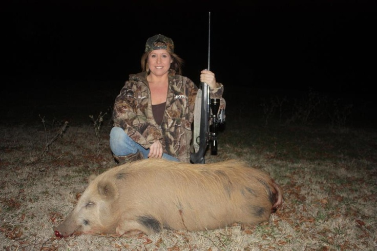 New Year's Eve Texas hog hunting!