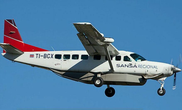 Sansa Regional Airlines... Costa Rica