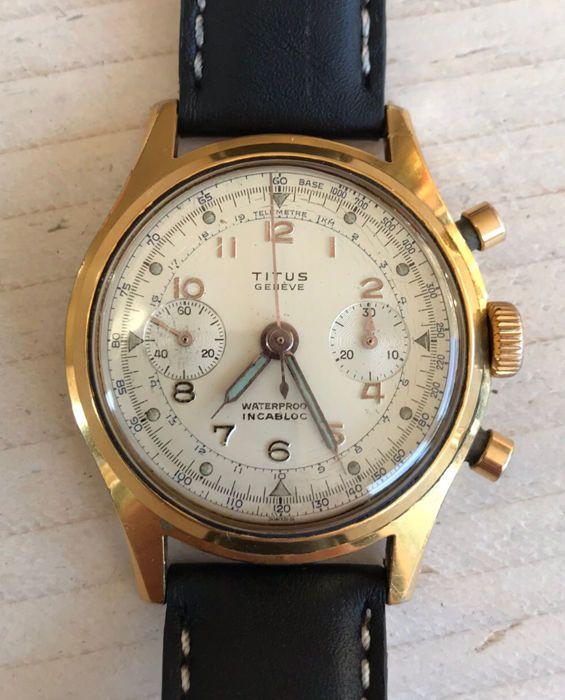 c9ba86ad0a0db8 Nu in de  Catawiki veilingen  Titus - Genève Chronograph - Heren - 1950-1959