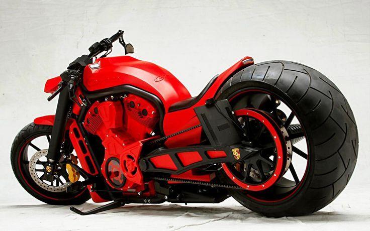"""No-Limit-Custom """"Carrera"""" V-Rod http://wwwblogtche-auri.blogspot.com.br/2014/04/super-motos-so-as-mais-belas.html"""