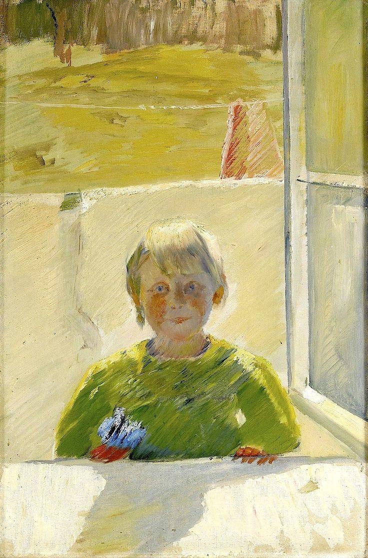 ODA KROHG, Norge 1860-1935, Nanna in the Window