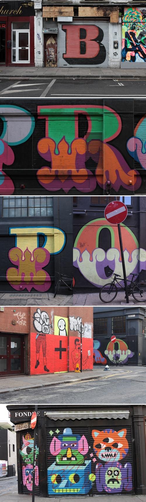 london type graffiti