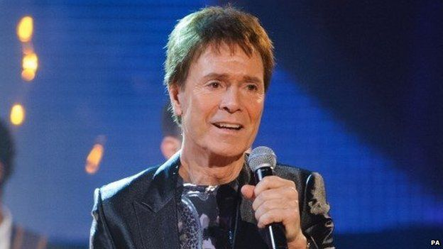 Sir Cliff Richard interviewed by police in relation to sexual assault charges from the eighties.