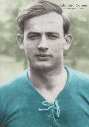Edmund Conen of Stuttgart Kickers & Germany in 1938.