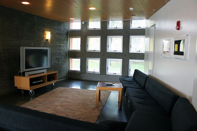 Inside Simmons Hall at MIT. Did your college dorm look like this?