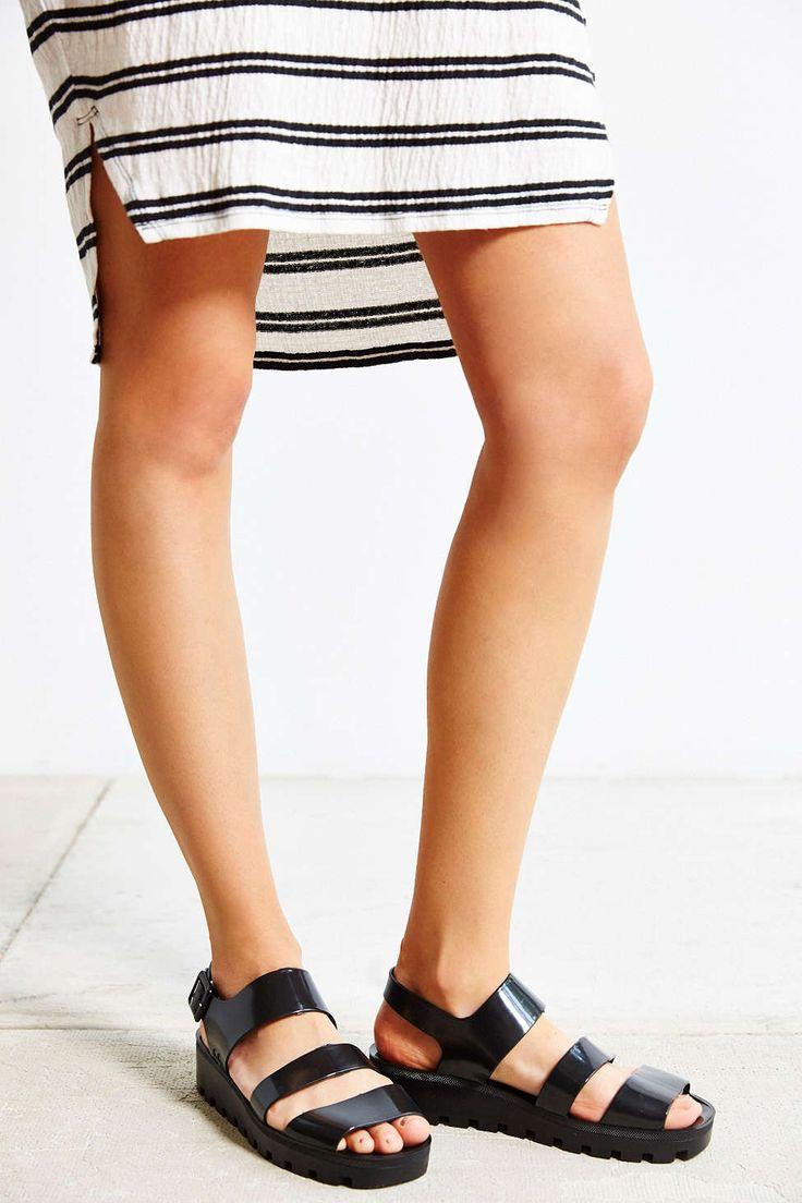 Black poppy sandals - Juju Poppy Sandal