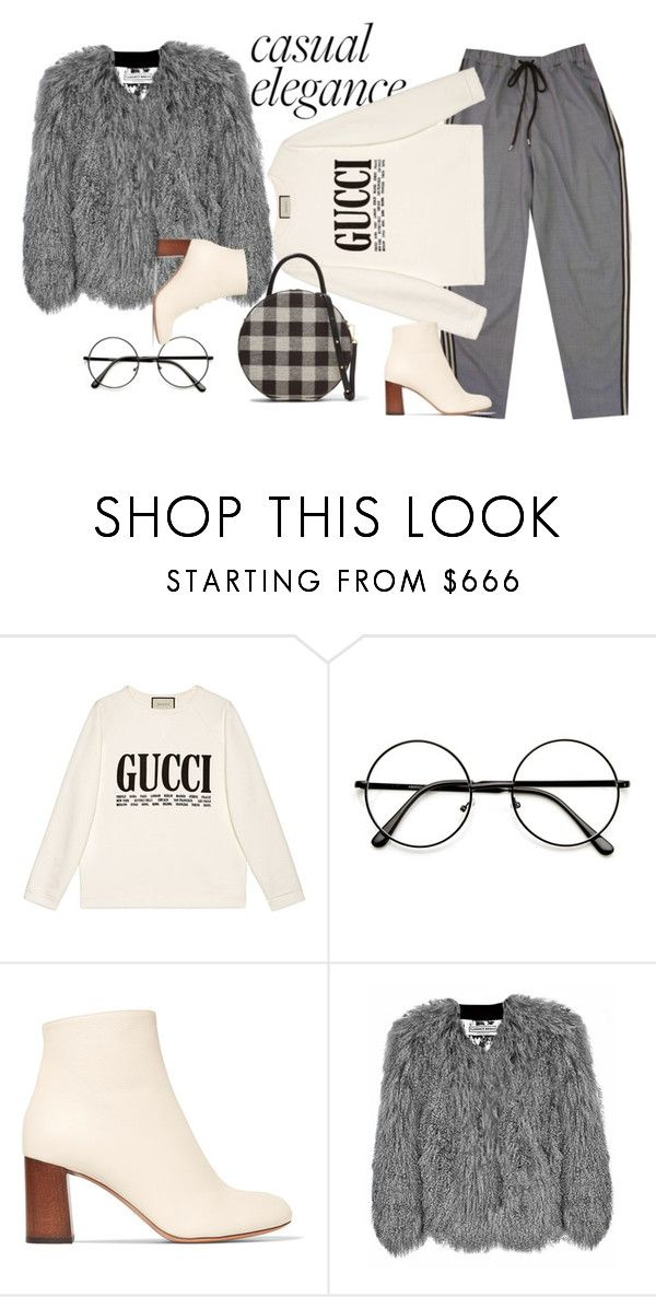 Без названия #33 by ankaminackowa on Polyvore featuring мода, Gucci, Florence Bridge, Chloé and Mansur Gavriel