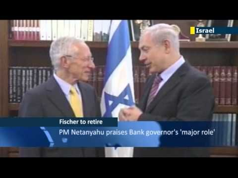 Stanley Fischer has announced he will resign as governor of the Bank of Israel after more than eight years in the job.