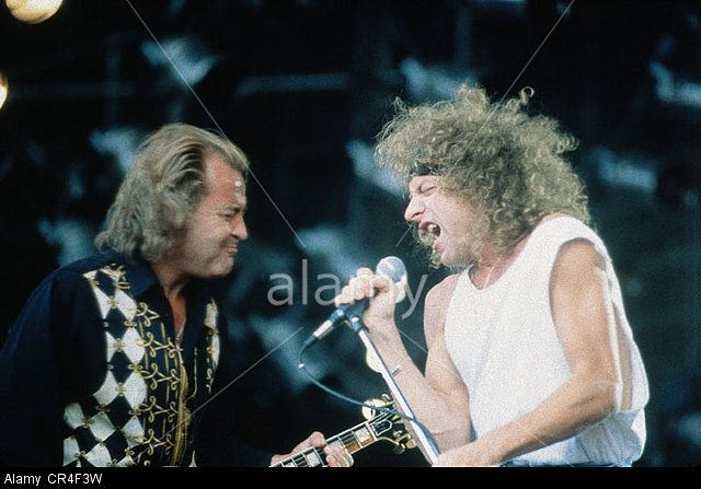 Foreigner, Us Rock Band, Formed In 1976, Singer Mick Jones On Stage Stock Photo, Picture And Royalty Free Image. Pic. 48657501