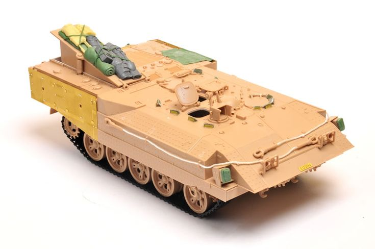 Meng Kit No.SS-003 - Israel Heavy Armoured Personnel Carrier Achzarit (Early) by Brett Green