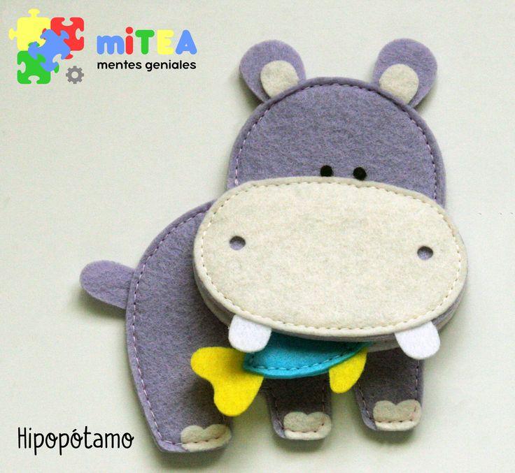 Hipopótamo - Quiet Book