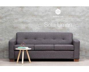 Sofá Uman Fur  gris