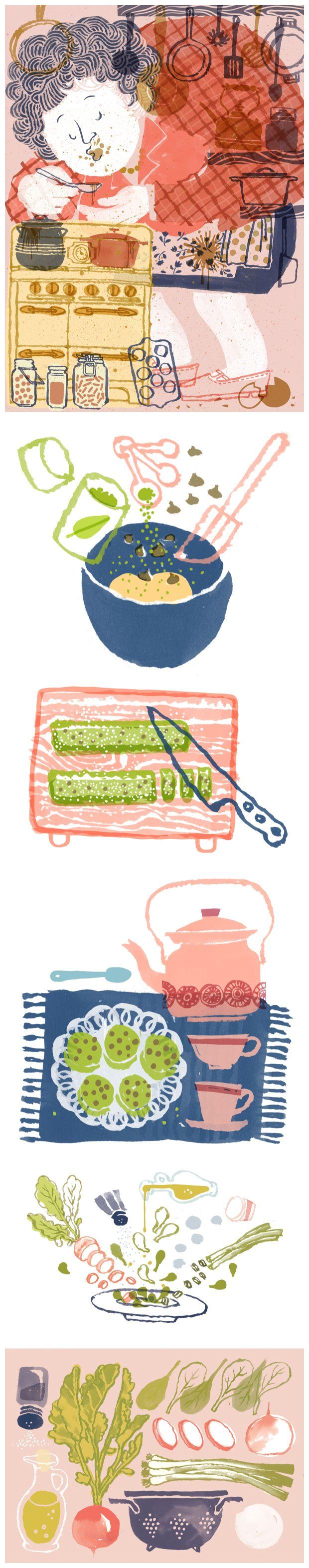 Food Parade by Hayelin Choi