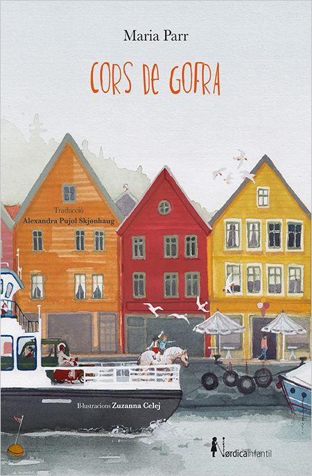 Títol: Cors de gofra. Autor: PARR,Maria. Editorial: Nórdica Libros. Resum: En el fred profund de Noruega hi viuen dos amics de tota la vida, la Lena i el Trille. Un és tot el contrari de l'altre, i veuen la vida de manera diferent, però això no els permet deixar de ser amics. Els acompanyeu en les seves vivencies divertidíssimes i gamberrades.