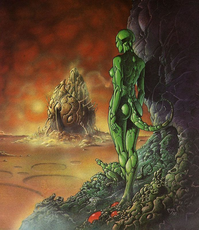 BD érotique de science fiction