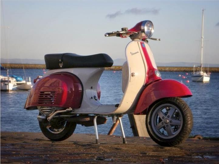 LML_ Vespa 160 GS body kit