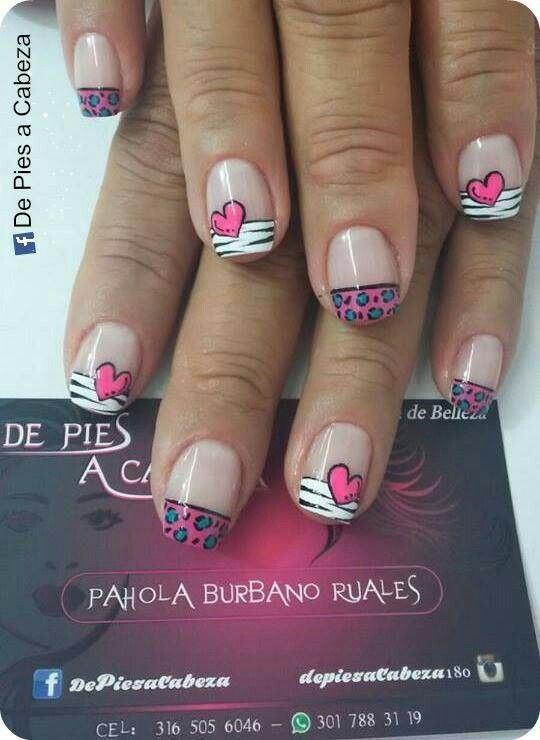 978 best Uñas images on Pinterest   Perfect nails, Nail art and Nail ...