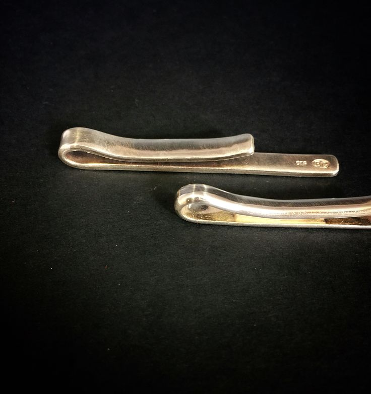 Tie pins - Sterling silver
