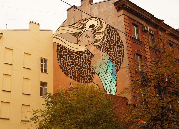 Просмотреть иллюстрацию Свободный дух из сообщества русскоязычных художников автора Леся в стилях: 2D, нарисованная техниками: Растровая (цифровая) графика.