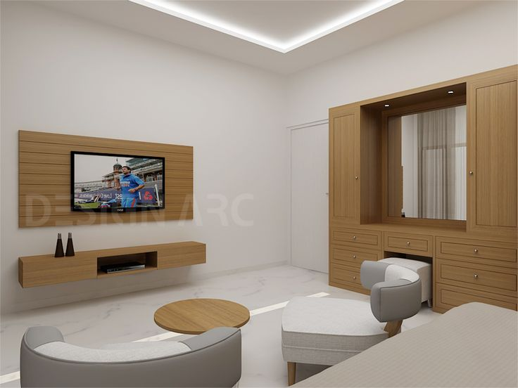 #BedroomInteriorDesign #InteriorDesign Design Arc Interiors Designer  Company experts in Modern Living Bedroom Interior Design
