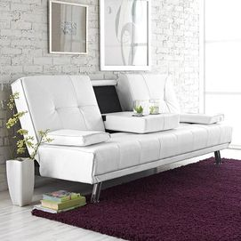 Calico Klik Klak Sofa Bed with Drop Down Table Sears Sears Canada small spaces