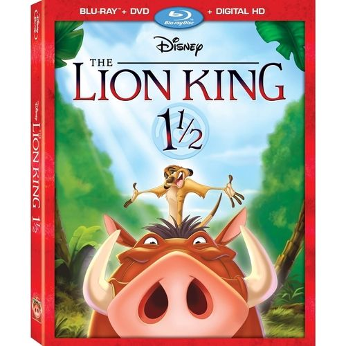 The Lion King 1 1/2 (Blu-ray + DVD + Digital) One and a Half