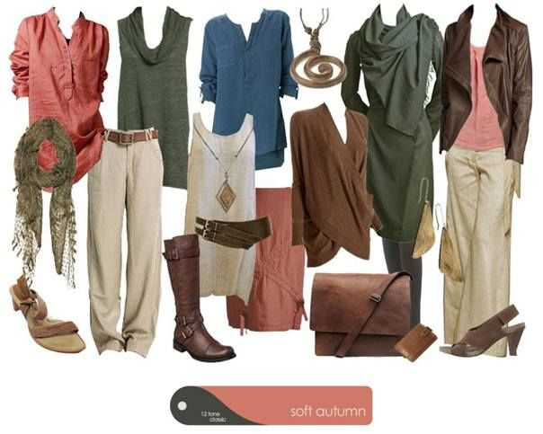 Soft autumn outfits                                                                                                                                                      More