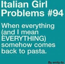 Italian girl promlems lol