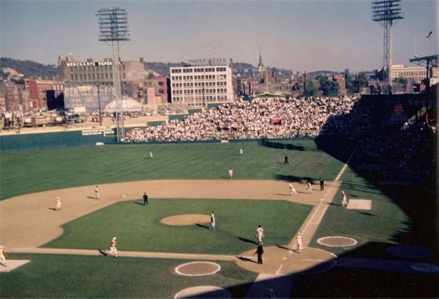 Crosley Field - history, photos and more of the Cincinnati Reds former ballpark