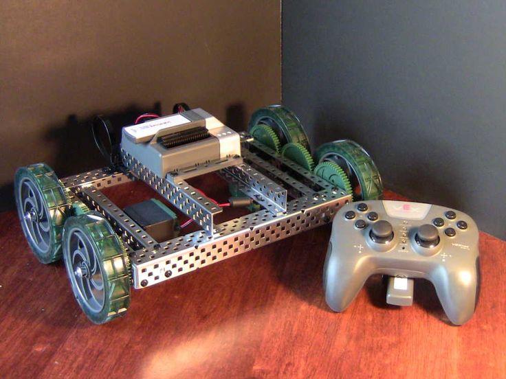 Basic Square EDR Robot Robotics basics, Starter kit, Vex