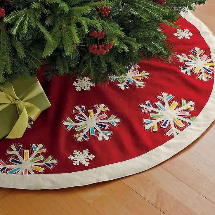 Holiday Felt Tree Skirt | The Company Store