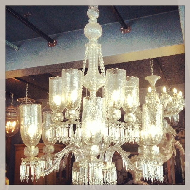 chandeliers, lights