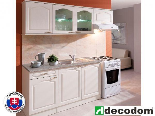 Kuchyňa - Decodom - Jula Netradičná a pritom jednoduchá a štýlová kuchynská linka bude krásnym doplnkom Vašej Provance kuchyne.