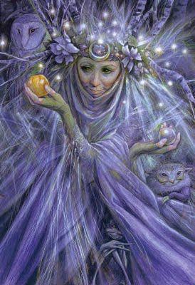 The Fairy Godmother, the High Priestess of the Fairies Oracle by Brian Froud