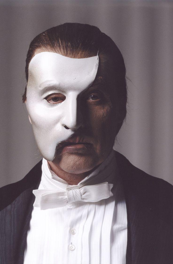 Michael Crawford Phantom Makeup
