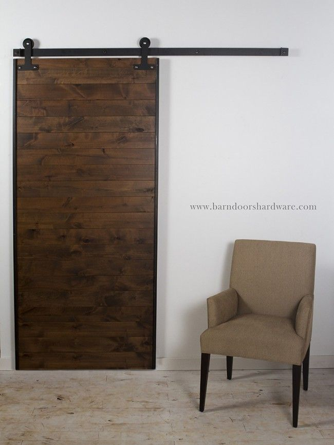 Why have a plain boring door when you can have a barn door for Cheap barn door hardware