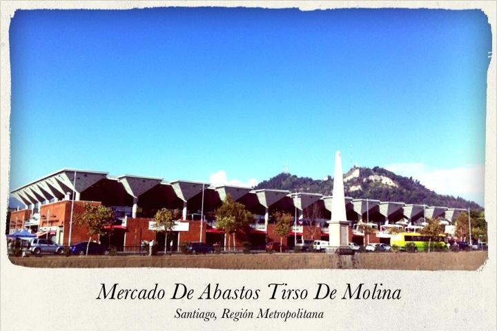 Mercado de Abastos Tirso de Molina, Santiago, Chile.
