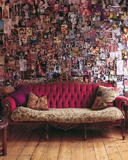 This would be awesome to do with 4x6s in the lounge area of the studio!