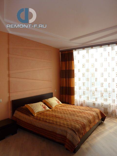 Спальня в квартире. Фото интерьера