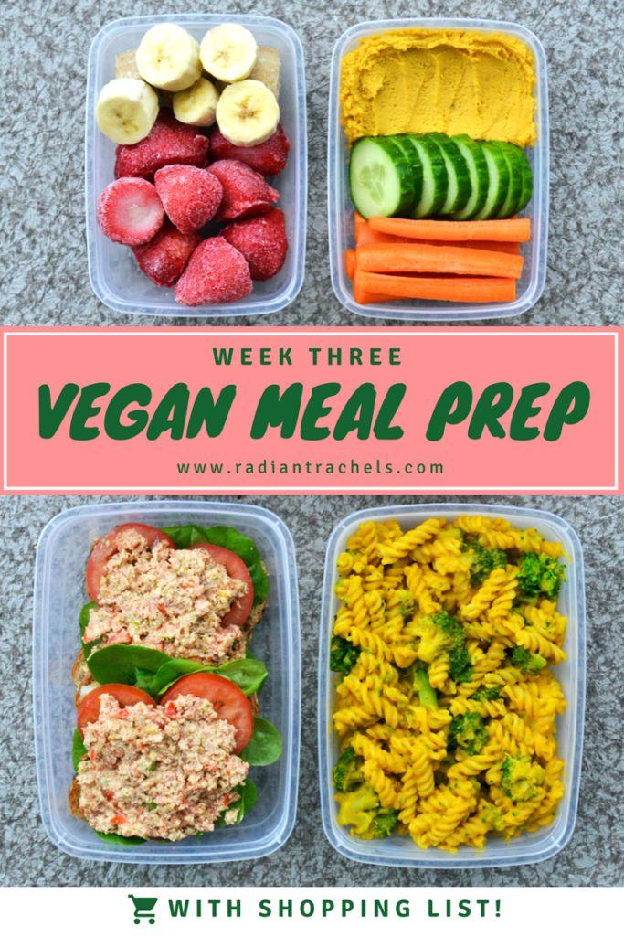 Vegan Meal Prep Week 3 is all about bringing back childhood favourites, but with a plant-based twist! | http://www.radiantrachels.com/vegan-meal-prep-week-3/ #vegan #mealprep #recipe