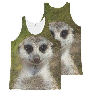 Meerkat All-Over Print Tank Top