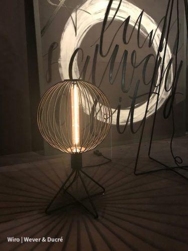 #Wiro van #weverducre #wever #designlamps #lighting #lightandbuilding2018