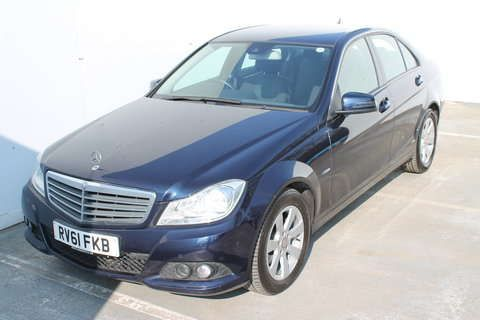 Used 2011 (61 reg) Blue Mercedes-Benz C Class C200 CDI BlueEFFICIENCY SE Edition 125 4dr Auto for sale on RAC Cars