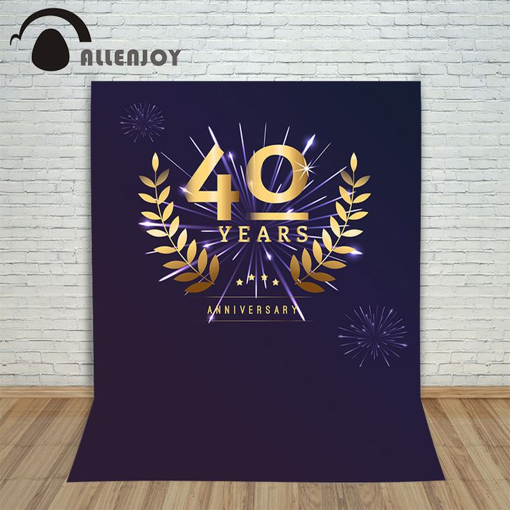Photography studio props birthday backdrops gold firewoks leaves laurel  Happy party lovely photo