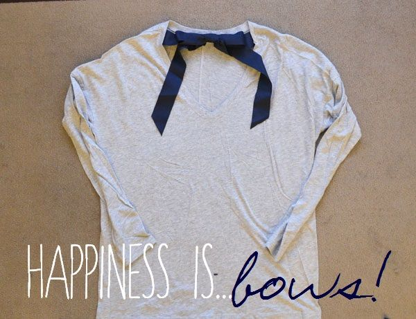 Create it yourself - Long Sleeve Bow Top