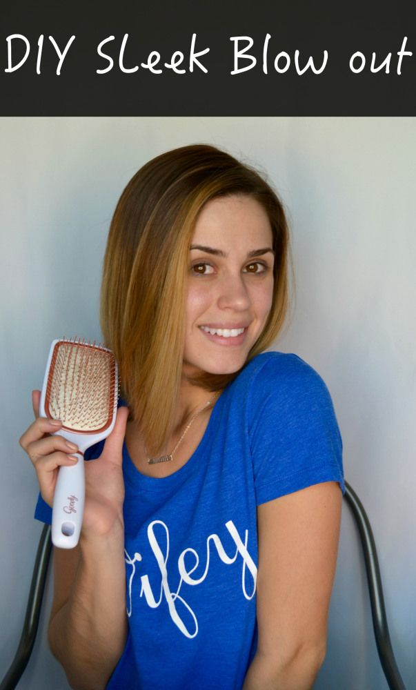 DIY: Sleek Blow Out • Uptown With Elly Brown @walmart #CleanRadiance