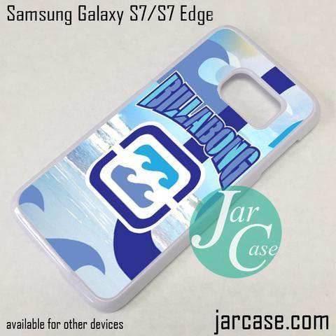 Billabong Logo Custom Phone Case for Samsung Galaxy S7 & S7 Edge