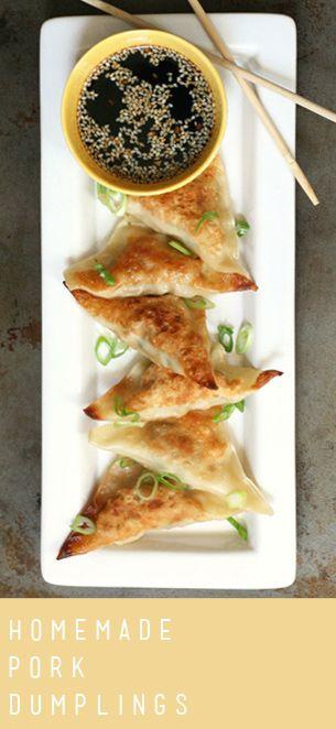 Pork Dumplings | Recipe