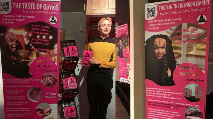 Het Klingon Tourist Center in Zweden - Thalmaray.co