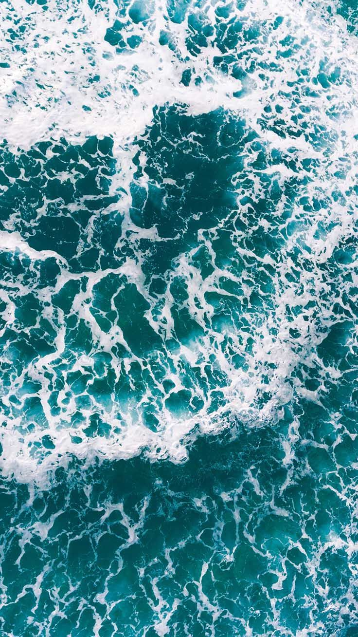15 Turquoise iPhone Wallpapers for Mermaids | Blue | Ocean ...